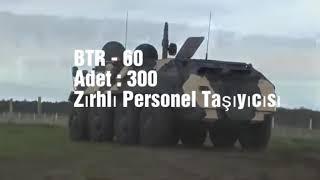 TSK 2018 Zırhlı Savaş Aracı Envanteri