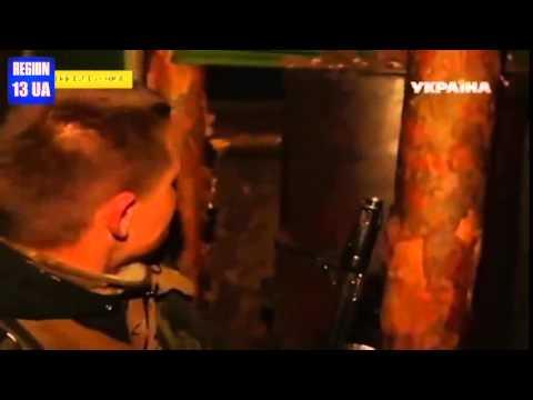Луганск Передовая Украинской Армии попала под обстрел журналистка TV Трехизбенка Идут бои Зона АТО