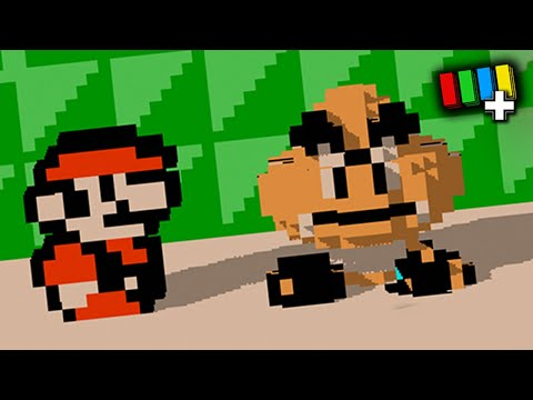 Playing NES Games in 3D [TetraBitPLUS] |