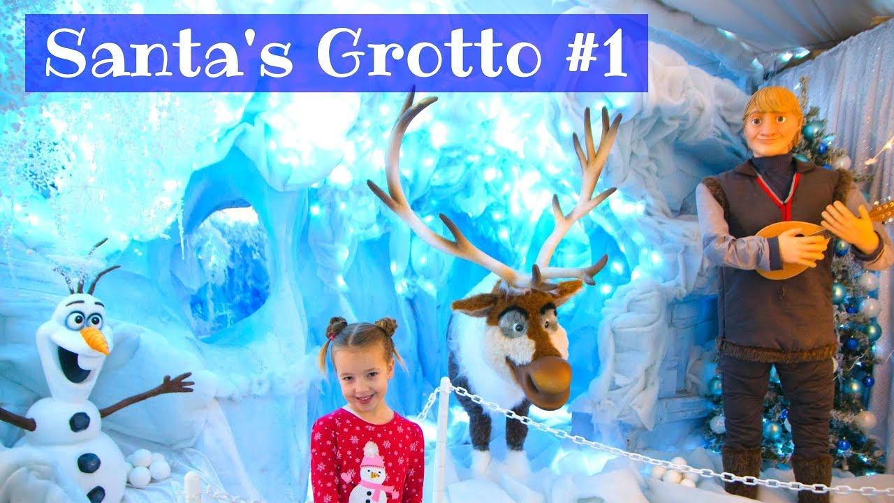 Santa S Christmas Grotto 2017 Chessington Garden Center Youtube