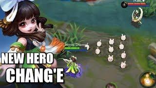 NEW HERO CHANG'E ANIMATION AND SKILLS EXPLANATION
