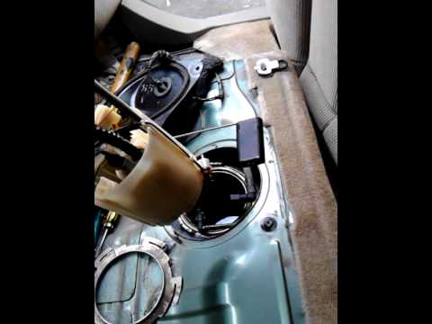 How to removed fuel pump 2004 nissan altima 2.5 4 cylender ...