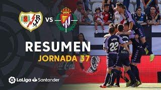 Resumen de Rayo Vallecano vs Real Valladolid (1-2)