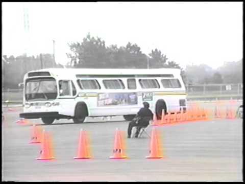 Detroit Department of Transportation 1985 Bus Rodeo