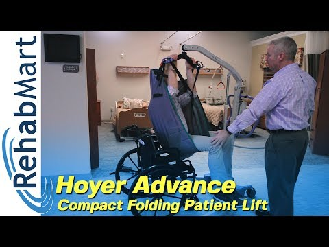 Transfer Patients Easily with the Hoyer Advance Compact