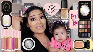 TOO FACED PRETTY RICH DIAMOND COLLECTION GRWM WITH BABY & ME - ALEXISJAYDA