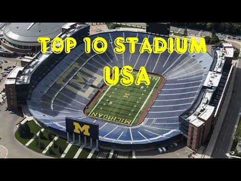 Top 10  Biggest Stadium USA (1)