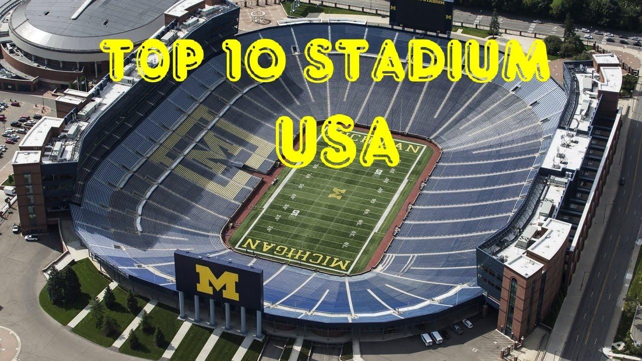 Biggest USA 10 Top Stadium YouTube (1) -
