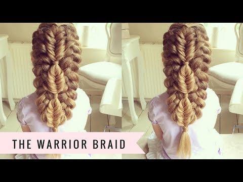 warrior braid sweethearts hair