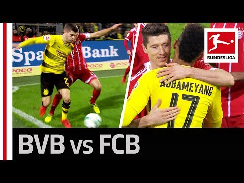 Der Klassiker Highlights - All Goals From Bayern's Win in Dortmund