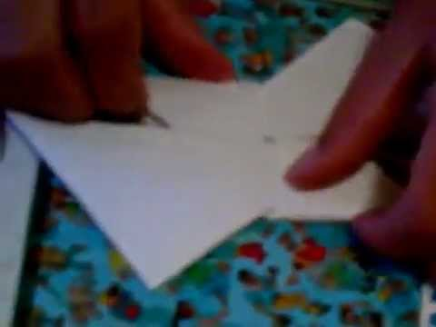 how to make a ninja star with 2 leaves