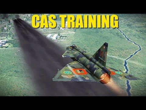 Reapers CAS Ground Attack Practice | A-10 F-5 Su-25 Viggen | DCS