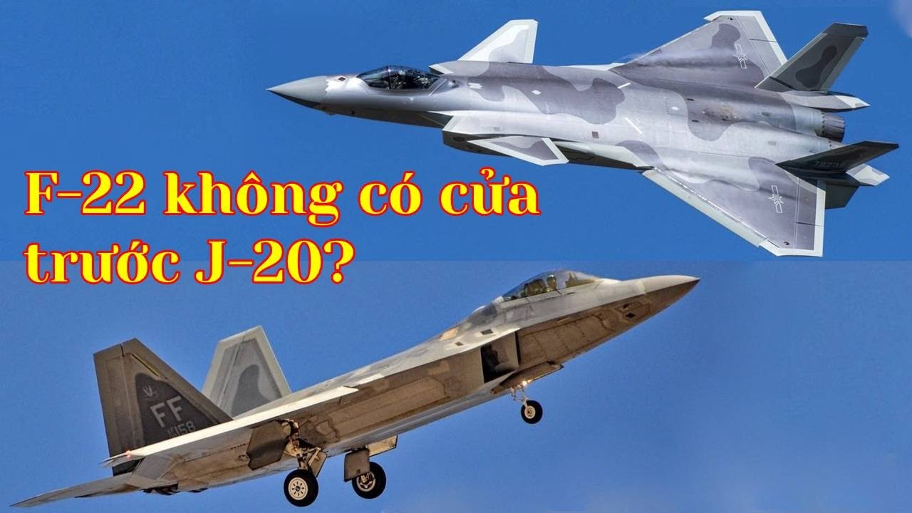 Báo Trung Quốc nói  F-22 Raptor không có cửa khi đối đầu với J-20 TQ (240)