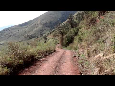 Down into the Ngorongoro Crater