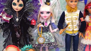 Ever After High Big Surprise Box ! Toys and Dolls Fun Opening EAH Playsets