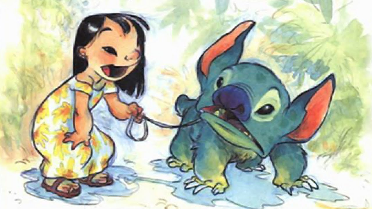 This is a photo of Critical Pictures of Stitch From Lilo and Stitch