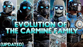 Evolution of The Carmine Family (UPDATED) | Gears of War 1-5 (2006-2019) | HD