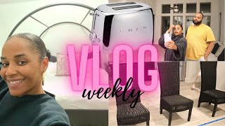 WEEKLY VLOG: WE GOT OUR BED!! …