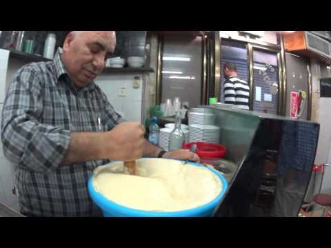 Hummus Lina, the Christian Quarter, Old City of Jerusalem - the best humus in the world.