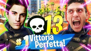 FORTNITE: REAL VITTORY PERFECT!! CORVI NOT DELUDONO w/ANIMA