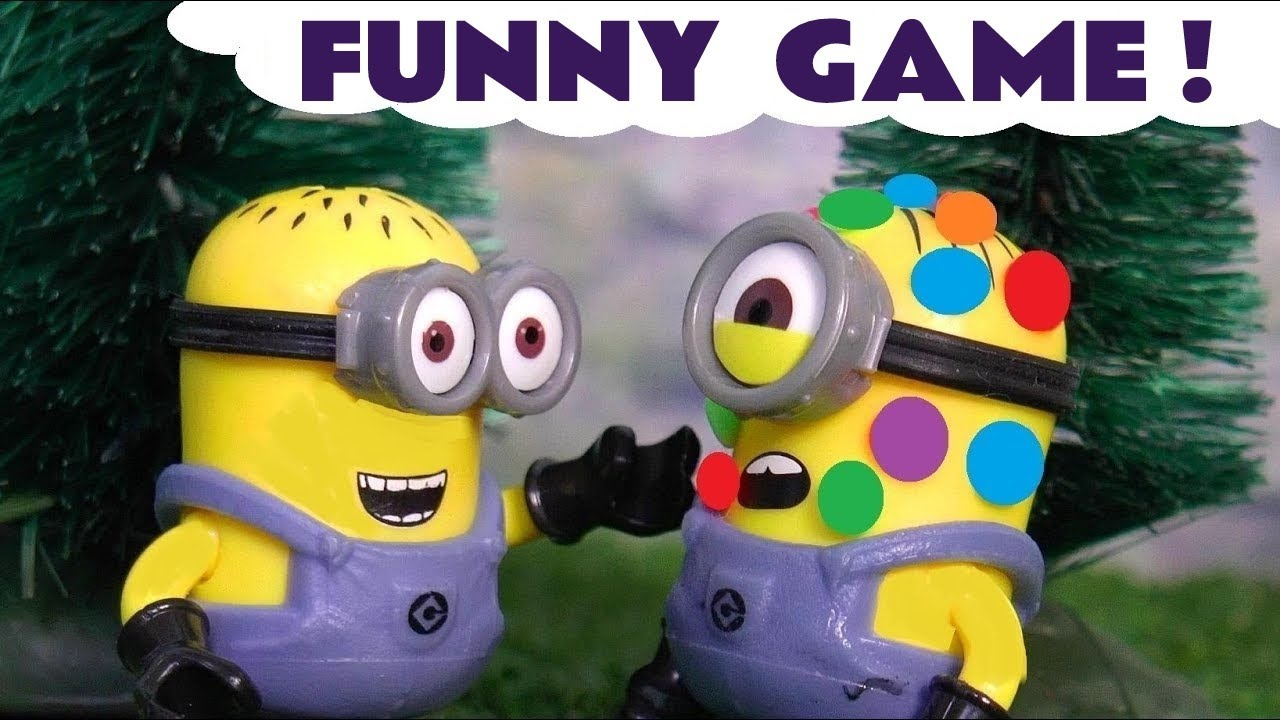 Minions Giant Candy Game Funny Minion Are You Sleeping Nursery Rhymes Colors TT4U