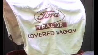Ford Covered Wagon for the Ford 900 & 901 Pedal Tractors by Graphic Reproductions