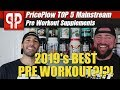 BEST Pre Workout Supplements of 2019 - Top 5 MAINSTREAM Pre's