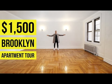 Brooklyn Apartment Tour | New York City Living For $1500 | Very Large!