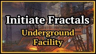 Guild Wars 2 Initiate Fractals Underground Facility