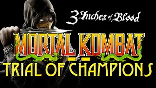 Mortal Kombat Music Video - Trial of Champions - 3 Inches of Blood