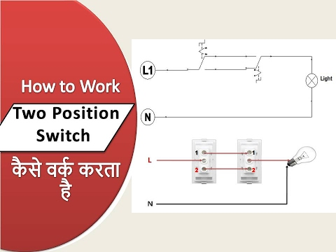 hqdefault 2 way switch wiring simulator {hindi हिंदी} youtube 2 position switch diagram at edmiracle.co