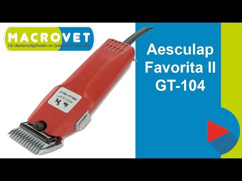 Aesculap Favorita II GT104 hondentondeuse - Tondeuse voor de professional