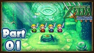 The Legend of Zelda: Four Swords - Part 01: Sea of Trees