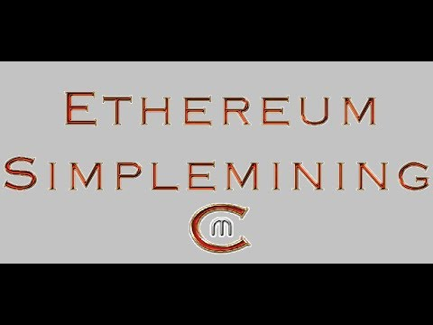 Simplemining.net Tutorial Ethereum Mining (German/Deutsch)