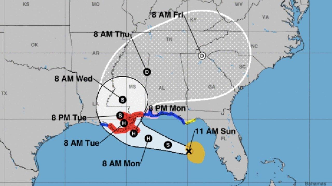 National Hurricane Center: Hurricane Sally expected to strengthen ...