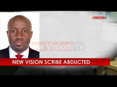 New Vision scribe abducted