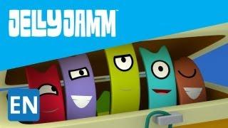Jelly Jamm. La Trampa De Las Pulseras. Los niños de la serie de animación. S01 E22