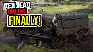 BOUNTY HUNTER'S WAGON First Impressions + 4 Target Gameplay - New Red Dead Online Update