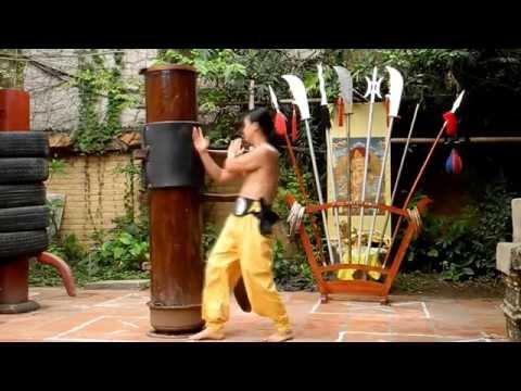 Vĩnh Xuân Quyền bài 108 moc nhan  ( Thien Phuc)