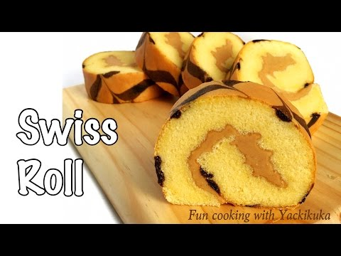 Rainbow Roll Cake Kukus Ncc