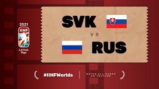 Highlights: SLOVAKIA vs RUSSIA | 2021 #IIHFWorlds
