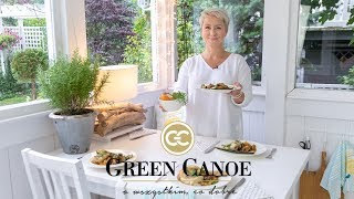 """Obiad w 20 minut"" - Letnia kuchnia GREEN CANOE - szybki obiad"
