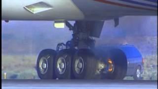 boeing 777 brake test (RTO)