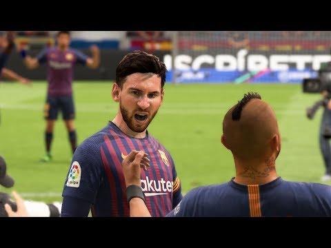 FIFA 19 | Barcelona Vs Levante | Copa del Rey Gameplay |