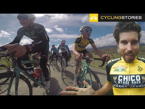 How I Got In The YELLOW Jersey For A Day (A Cycling Story)