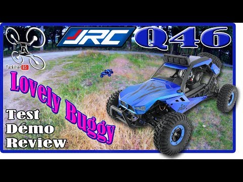 JJRC Q46 Speed Runner Review Test Démo / Un amour de p'tit Buggy !