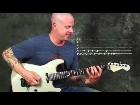 Learn Crazy Train pt1 rock guitar song lesson from Ozzy Osbourne Live Tribute Randy Rhoads