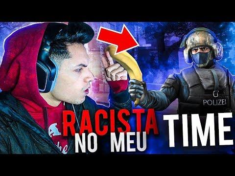 RACISTA NO MEU TIME e JOGAMOS COM 2 BOT'S !! (COMPETITIVO CS:GO)