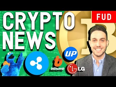 Crypto Market Recovery! Ripple Distances from XRP? LG Announces Blockchain $BCH