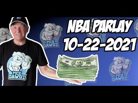 Free NBA Parlay For Today 10/22/21 NBA Pick & Prediction NBA Betting